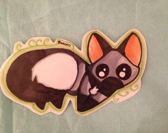 Silver Fox Sticker