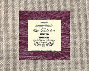 The Gentle Art - Limited Edition Floss - Cotton - Mixed Berry - Five Yards - By the Skein