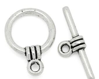 ON SALE Knebelverschluss Toogleverschluss  Tibetsilber Tibetean Silver Toggle Clasp