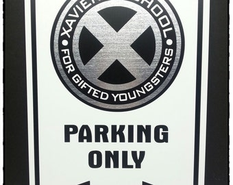 "Xavier's School of Gifted Youngsters 12""x18"" Aluminum Sign"