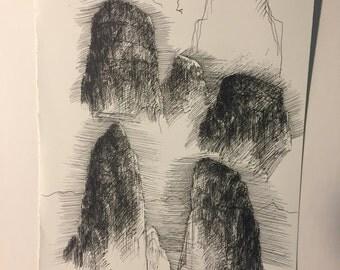 Rock Sketch #1