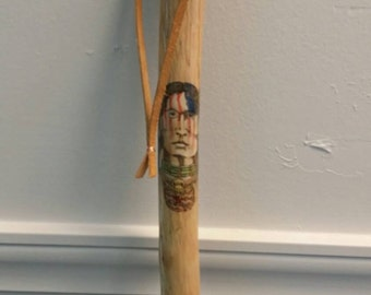 War Paint Walking Stick