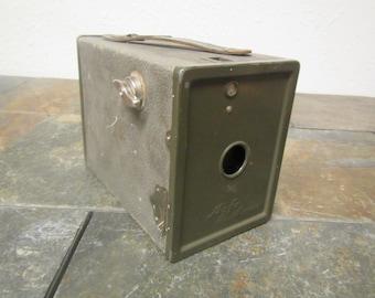 Antique ANSCO AGFA  Box  Camera  early 1900s  *