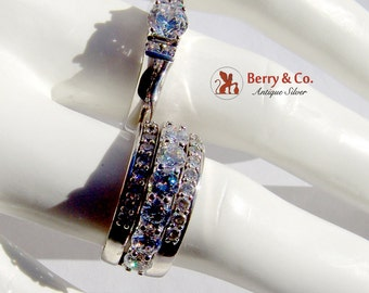 Stackable Dazzling Rings Sterling Silver CZ