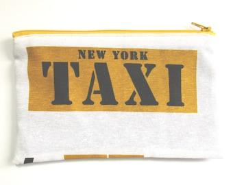 New York Taxi Canvas Pencil case