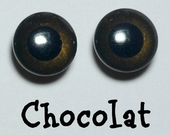 Eyechips 13 mm - colour chocolate size Pullip recent models