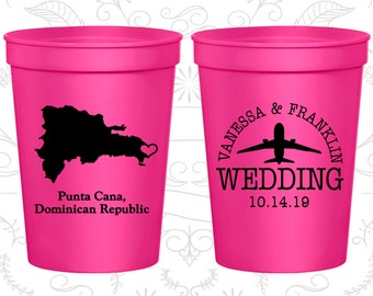 Dominican Republic Wedding Cups, Dominican Republic Stadium Cups, Dominican Republic Plastic Cups, Dominican Republic Cups (172)