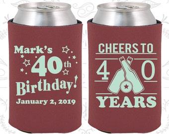 Th Birthday Favors Etsy - 40th birthday party favors ideas