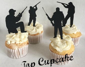 Hunting Cupcake Toppers -12