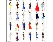 Kate Middleton, Duchess of Cambridge Fashion Poster IV 18x24