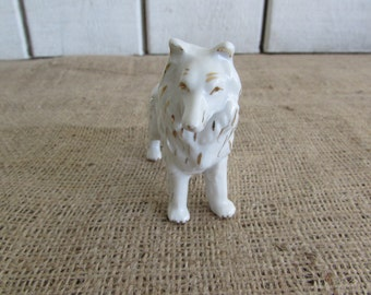 Vintage Collie Figurine Made in Japan, Vintage Figurine, Vintage Collie Figurine, Made In Japan Figurine, Made in Japan Items, Figurines
