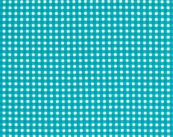 Michael Miller Fabrics - Tiny Gingham Teal - CX4834-TEAL-D