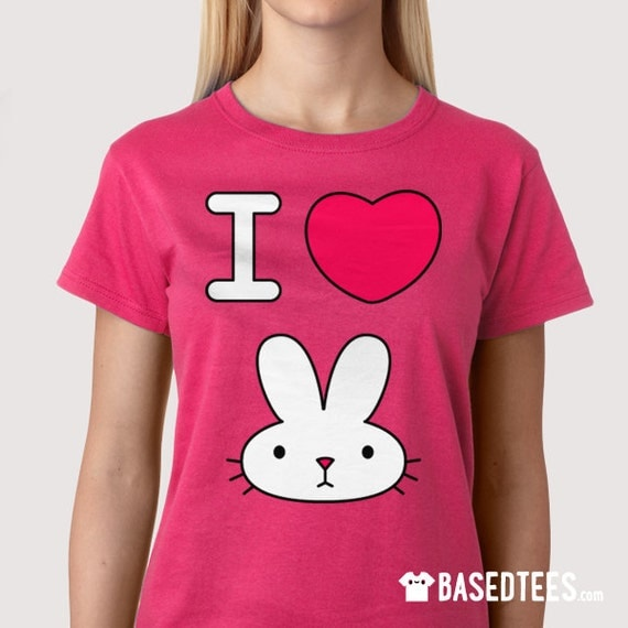 I love bunny - Princess Bubblegum - Jake the brick Adventure time tshirt tee
