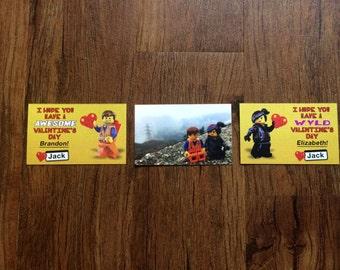 Lego Movie Valentines (Printable)