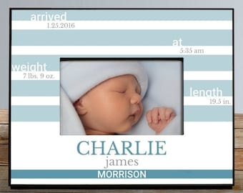 Personalized New Baby Personalized Picture Frame