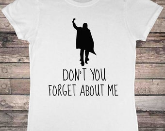 1980s Brat Pack Dont Forget About Me T-Shirt