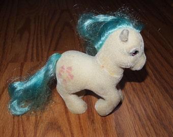 My Little Pony G1 So Soft Pony Cupcake Hasbro Vintage Ponies Flocked