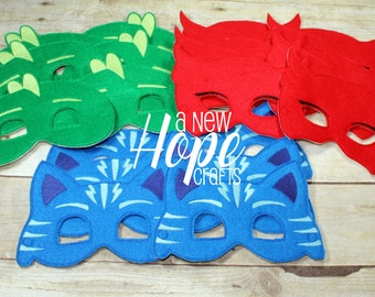 PJ Masks Party Pack - Catboy - Owlette - Gekko - Bedtime Heros - Birthday Pack - Favors - Free Shipping