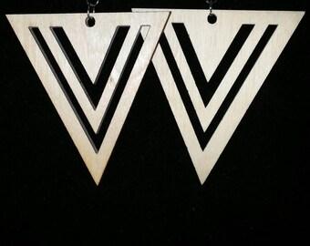 Naturally Chic earrings-wood earrings-women's birthday gift