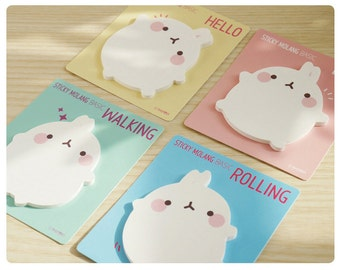 Molang Sticky Note - memopad notepad