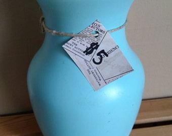 Light Blue / Aqua Glass Vase