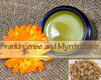 Frankincense and Myrrh Salve