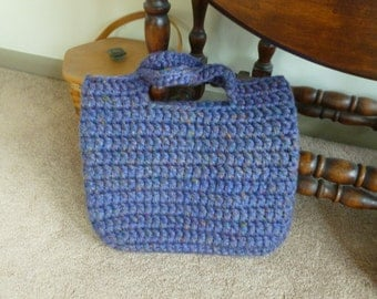 Crocheted Thick and Chunky Tote