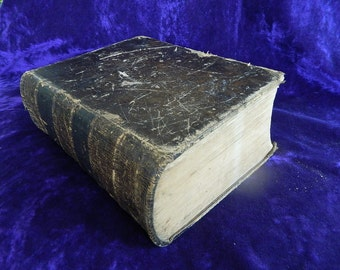 1840 Noah Webster Unabridged Dictionary