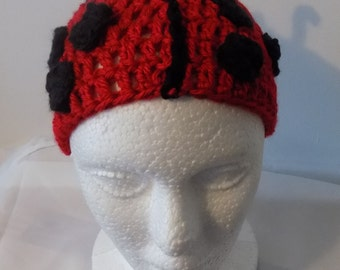 39---Lady Bug Hat 12-24 Months