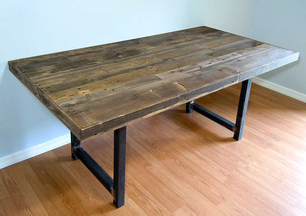 Pallet dining table sale reclaimed pallet dining table for Dining table from pallet