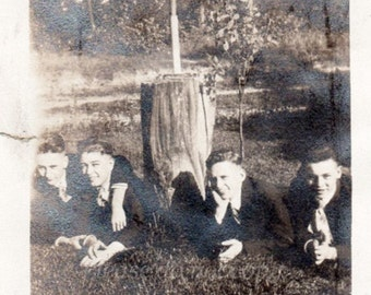 Vintage Photo ~  handsome men
