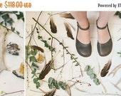 SALE 20% OFF: Grey Leather Sandals, Peep Toe Sandals, Women Sandals, Handmade Sandals In Grey Color