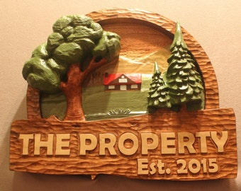 CUSTOM WOOD SIGNS | Home Signs | House SIgns | Cabin Signs | Cottage Signs | Property SIgns | Lodge SIgns | Chalet SIgns | Lakehome signs