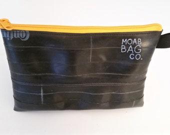 Extra Large Zipper Pouch - Bike Tube Pencil Case