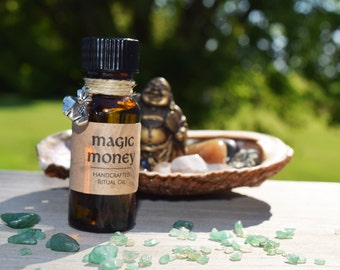 MAGIC MONEY OIL - Anoint the Corners of Your Cash Before Spending & Ask it to Multiply and Come Back to You - Law of Attraction Game Ritual