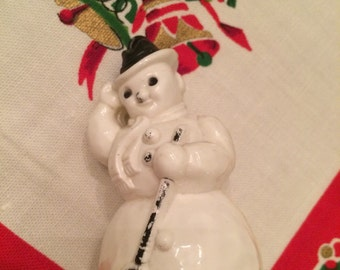 Plastic Snowman Etsy