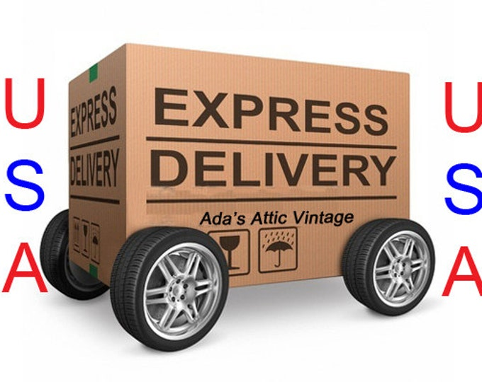 Express USA Delivery, Guaranteed 3 Day Delivery Upgrade To USA & Canada, Express Delivery To USA, Delivery Upgrade, Delivery Add On America