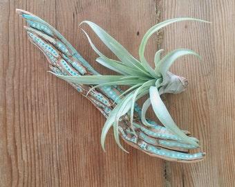 Spirit Stick // Decorative Driftwood /// hand painted ceremonial branch