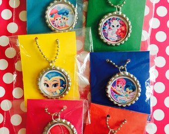 Shimmer And Shine 10 Quantity Party Favor Necklaces Shimmer And Shine Party Shimmer And Shine Party Necklace