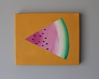 just a piece of watermelon