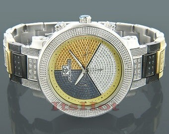 Pre-Owned Tri Color Super Techno I-5118 0.76 ct.Diamonds*********.