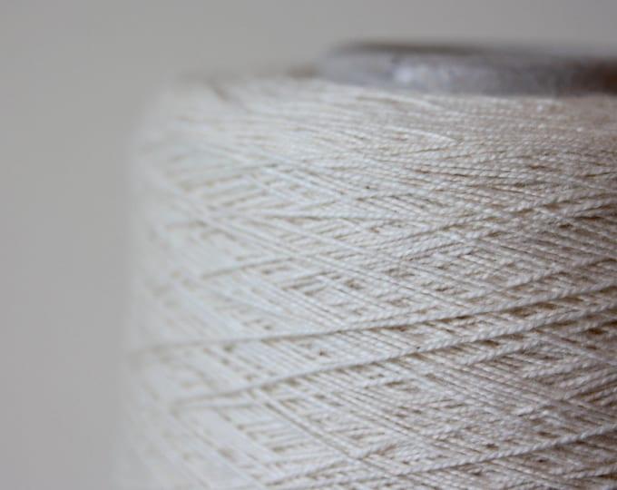 100% Combed Cotton 27/2  Col:04 Ecru