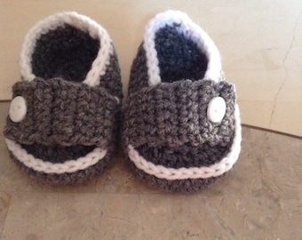 Crochet prince loafers