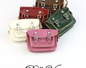 1:6 scale doll Punk handbag for Blythe, Pullip, Dal, YOSD aonze dolls BT4-006