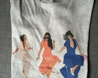 Tshirt 3 Brown girls just have fun
