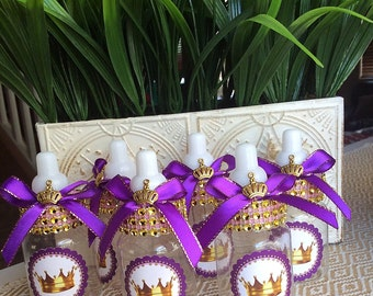 baby shower favors purple and gold baby shower purple princess baby