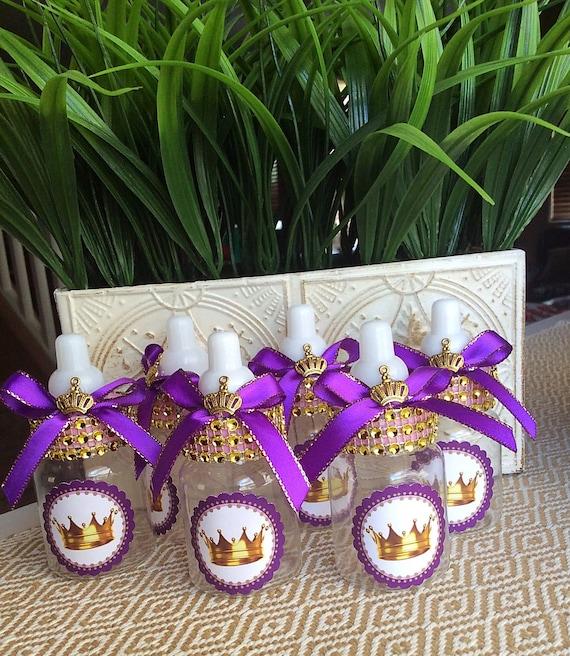 princess baby shower favors lavender little princess baby shower