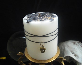 Wish Candle to REMOVE NEGATIVE ENERGY, Curse, Hex,  Protection, positive energy,
