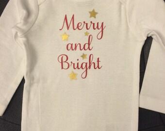 Merry and Bright Onesie
