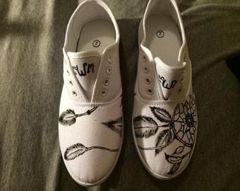 Dream Catcher Custom Shoes